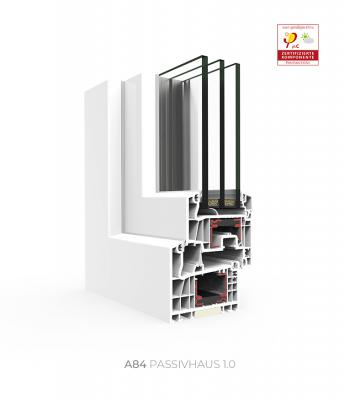 Sistema A 84 Passivhaus HI / 1.0